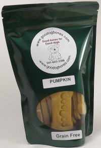 totally grain free pumpkin dog treats
