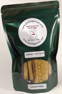 nutritious sweet potato dog treats made in the USA